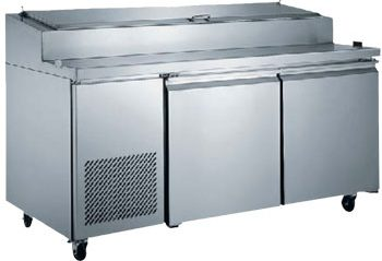 2-Door Pizza Prep Table Refrigerated (XPICL2-E)
