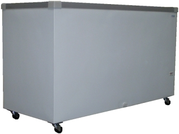 14.1 cu. ft. Flat Glass Top Sliding Lid Display Chest Freezer (GST-61) (FTHG8SG)