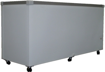 18.5 cu. ft. Flat Glass Top Sliding Lid Display Chest Freezer (GST-70) (FTHG9SG)