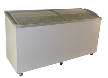 71″ Curve Glass Top Sliding Lid Ice Cream Display Freezer (AST-70) (FTHG9SGI)