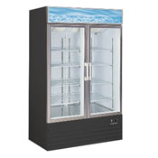 25 cu. ft. Glass Door Freezer Merchandiser (XD768BM2F)