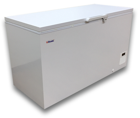 Elcold 59″ Solid Flip-Lid Storage Freezer. Low Temp (UNI-41)