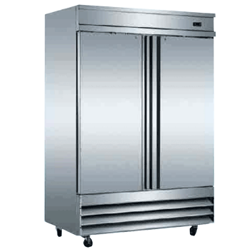 Reach In 2 Door Stainless Steel Refrigerator Xcfd2rr E Alamo Refrigeration
